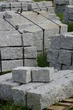 Curbs stone 4 Royalty Free Stock Image