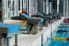 Curbstone dla skoku basen Zdjęcie Stock
