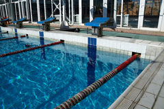 Curbstone dla skoku basen Obrazy Stock