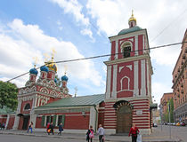 The Curch of Assumption of the Holy Virgin in Taganka, Moscow Royalty Free Stock Photography