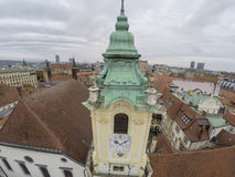 Curch in Bratislava Stock Photos