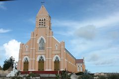 Curch curacau Royalty Free Stock Images