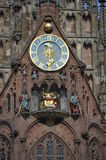 Curch of Our Lady, Nuremberg Royalty Free Stock Images