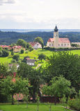 Curch Saint Stephanus in Lalling, Bavaria Stock Photography