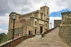 The curch of San Nicolo, location of The Godfather royalty free stock photo
