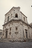 Curch in Syracuse. Old antique church in Syracuse in Sicily, Italy Stock Images
