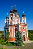 Curchi Christian Monastery ortodosso, Moldavia Immagine Stock