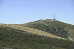 Curcubata mare peak Royalty Free Stock Images