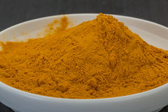 Curcuma powder Stock Images