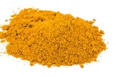 Curcuma powder Stock Photo