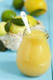 Curd лимона стоковое изображение rf