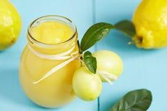 Curd лимона стоковые фотографии rf