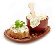 curd сыра свежий Стоковое Изображение RF