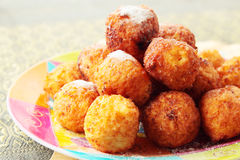 The curd balls Stock Photo