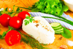 Curd cheese Royalty Free Stock Photos