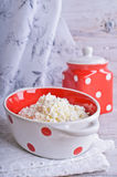 Curd cheese Stock Photography