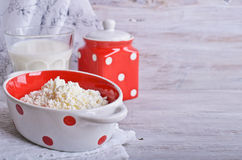 Curd cheese Stock Image