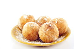 Curd doughnuts Stock Images