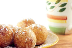 Curd doughnuts Stock Photography
