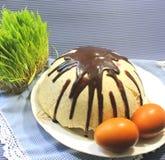 Curd Easter Royaltyfri Bild