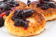 Curd pancake Royalty Free Stock Photo
