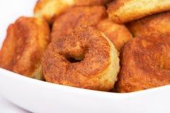 Curd pancake. A homemade curd pancake close Royalty Free Stock Image