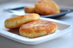 Curd pancakes Stock Photo