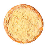 Curd pie top view Royalty Free Stock Image