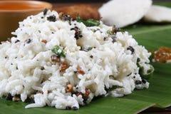 Curd Rice van Zuid-India royalty-vrije stock foto's