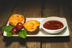 Curd sweet chocolate muffins Royalty Free Stock Photography