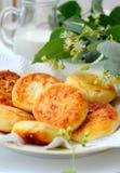 Curds i pancake Fotografie Stock Libere da Diritti