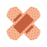 Cure band first aid icon. Vector illustration design Stock Photos