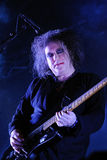 The Cure band performs at San Miguel Primavera Sound Festival Royalty Free Stock Photo