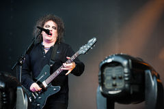 The Cure concert Royalty Free Stock Photo