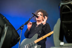 The Cure concert Royalty Free Stock Photos
