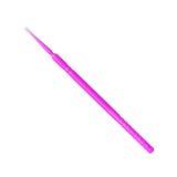 Cure-dents dentaire en plastique rose lumineux Photo libre de droits