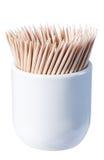 Cure-dents en bambou Photographie stock