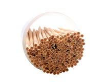 Cure-dents en bois image stock