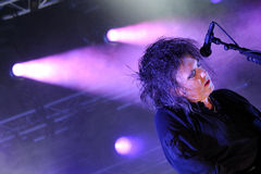 The Cure (English rock band) performs at San Miguel Primavera Sound Festival Stock Photo