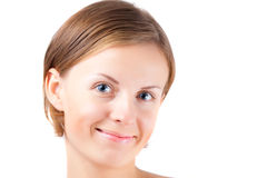 Cure girl with genuine smile Stock Photography