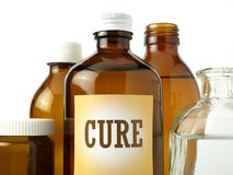 Cure Medicines Stock Photos
