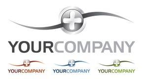 Cure o logotipo (o vetor) Foto de Stock
