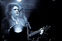 The Cure. Robert Smith Of The Cure performing at the primavera sound festival 2012 stock images