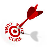 Cure Target stock photography