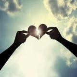 Cure um coração quebrado Fotografia de Stock Royalty Free