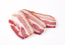 Cured Bacon Royalty Free Stock Images