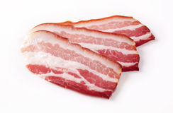 Cured bacon Royalty Free Stock Photos