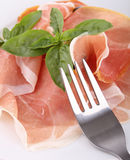 Cured ham Royalty Free Stock Photography