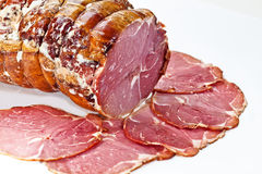 Cured Ham Royalty Free Stock Photos