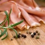 Cured ham Stock Photo
